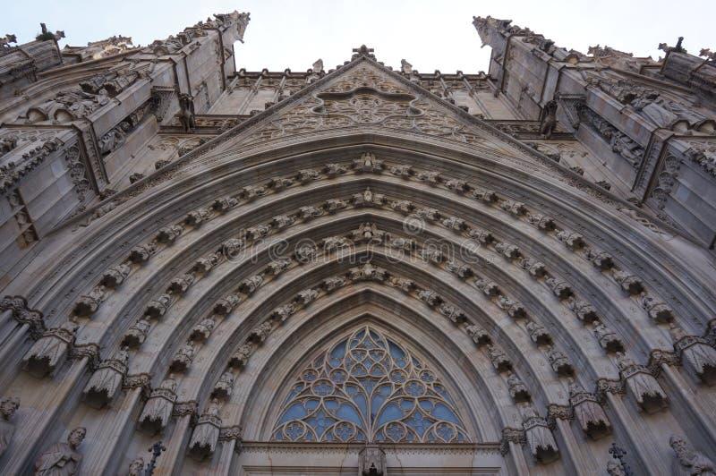 Gocka Barcelona katedra w Hiszpania zdjęcie royalty free