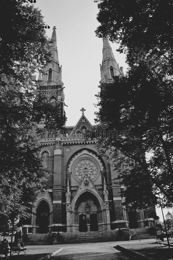 Gocki kościół obrazy stock