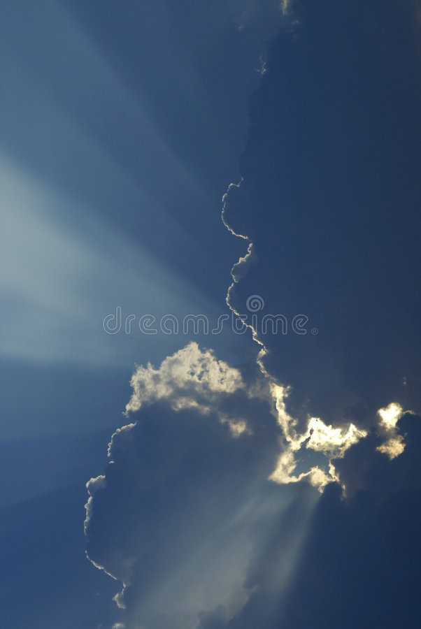 God Beams royalty free stock photography