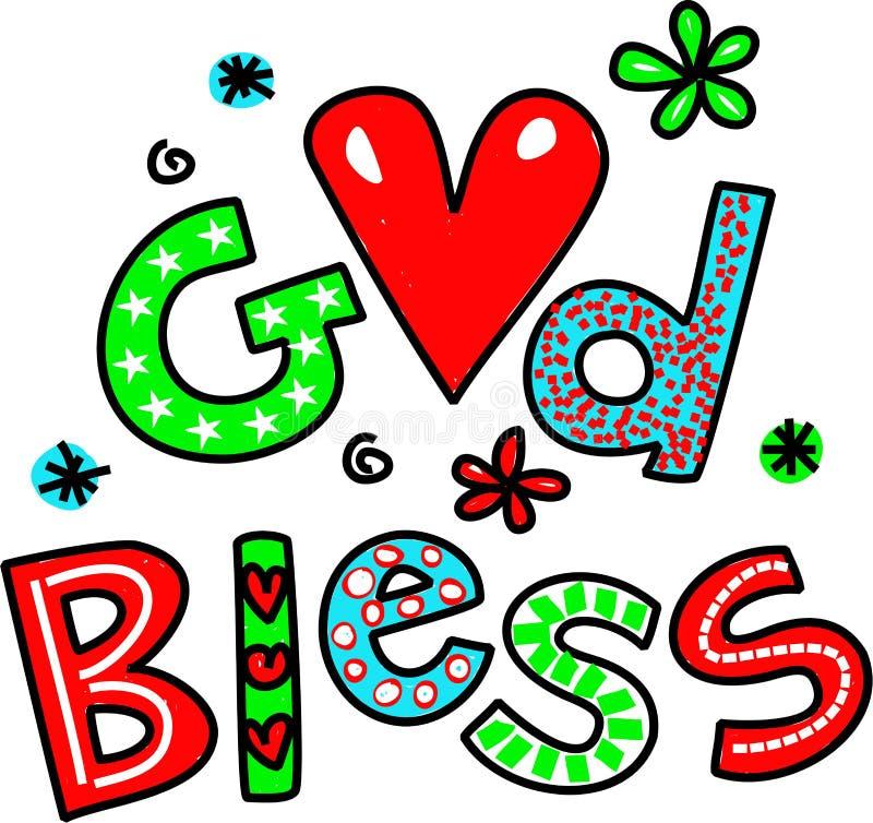 god bless cartoon text clipart stock illustration illustration of rh dreamstime com thanksgiving blessing clipart blessing clipart images
