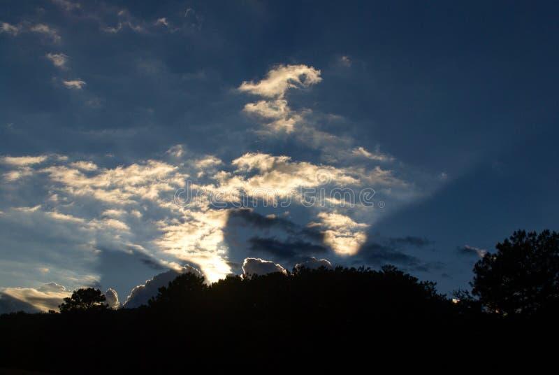 Cloud, sky. Golden hours, clodcape, sun, light, dawn royalty free stock image