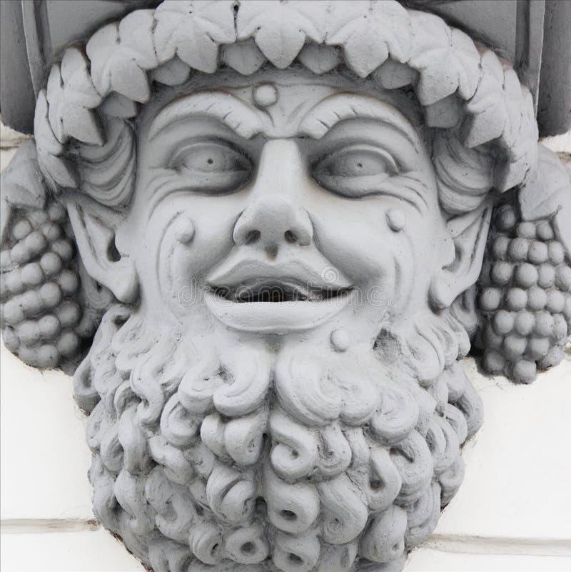 God Dionysus Greek Dyonys Dionysus Lat Bacchus Stock Image