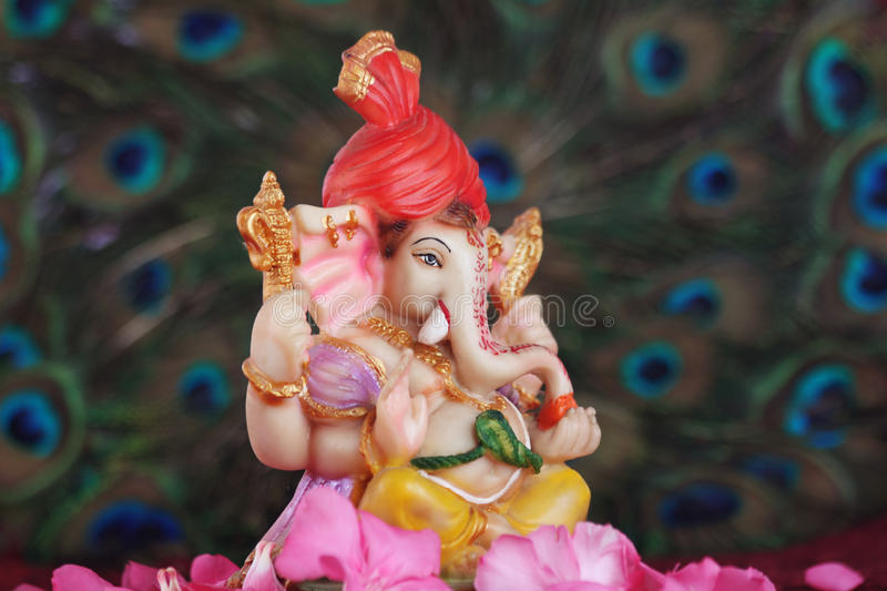 God Ganesha stock fotografie