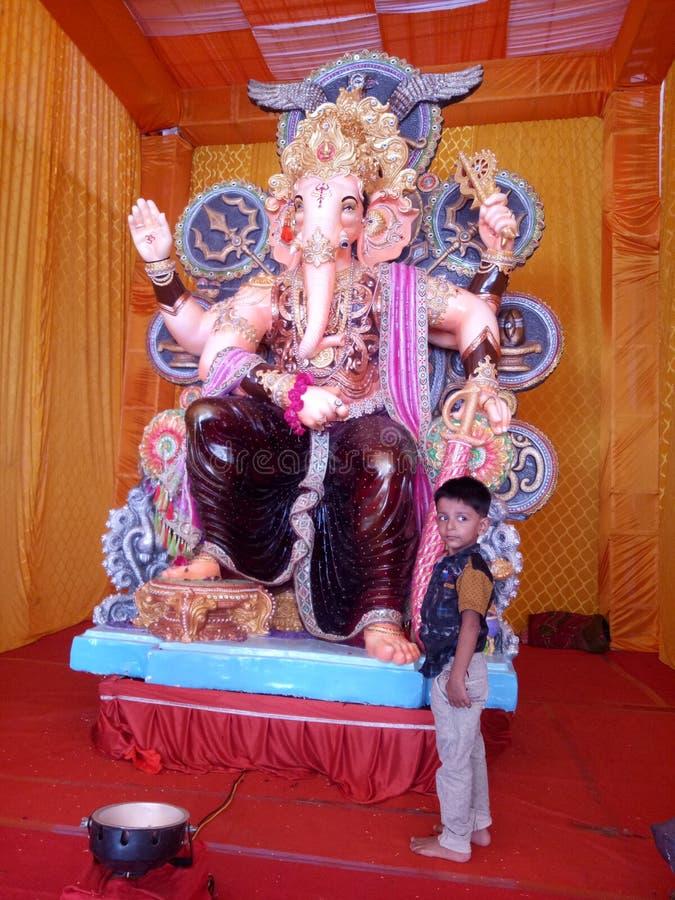 God Ganesha ganapati bapa royalty free stock image