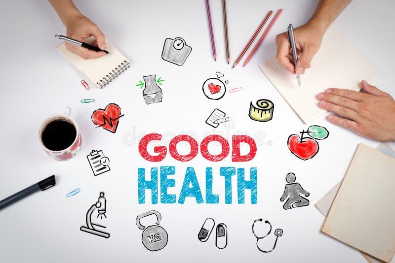 god hälsa för begrepp Healty livsstilbakgrund Mötet på royaltyfria bilder