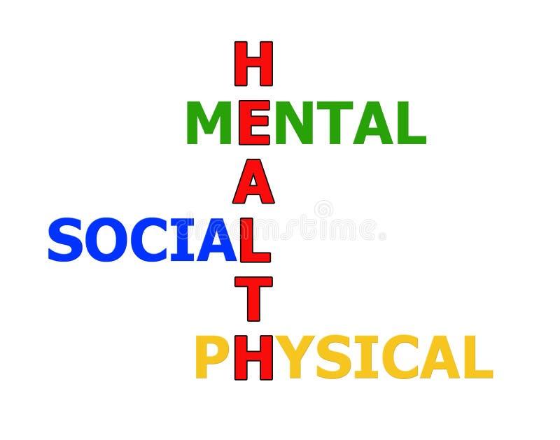God hälsadiagram fotografering för bildbyråer