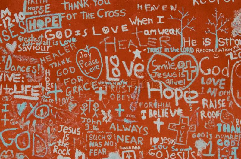 God, Joy, Peace, and love royalty free stock photos
