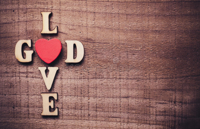 God is Love royalty free stock photography