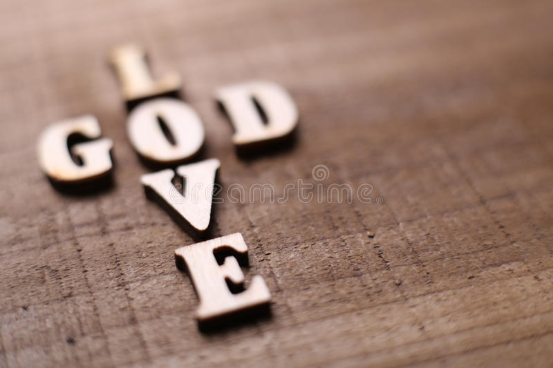 God is Love stock image
