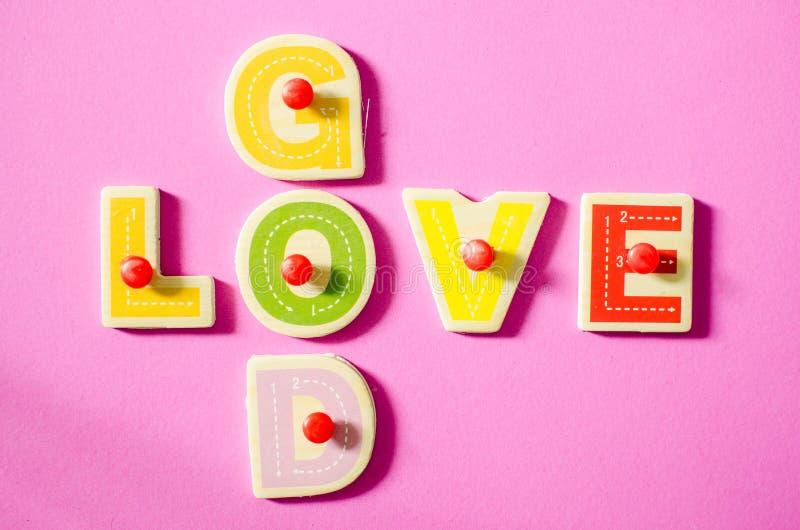 GOD & LOVE. royalty free stock photo