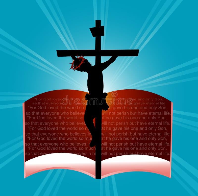 God so loved the word. For god so loved the world...John 3:16 stock illustration