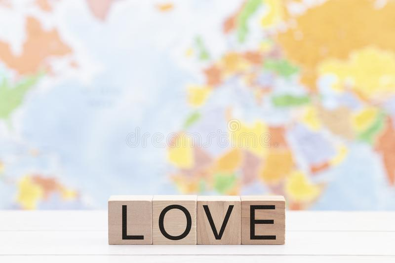 For God So Loved the World a Background to Show Gods Affection for the Whole World. For God So Loved the World a Background to Show Gods Affection for the World stock photography