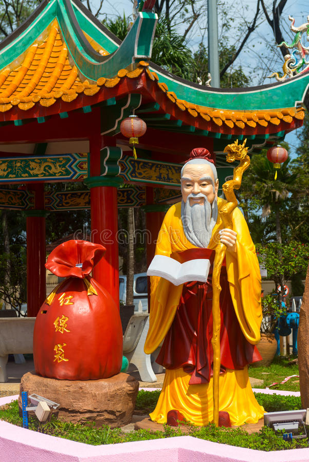 Download God Of Marriage And Love In Chinese Thean Hou Temple Editorial Stock Image - Image: 98764394
