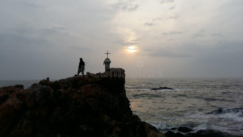 God & Me royalty free stock photography