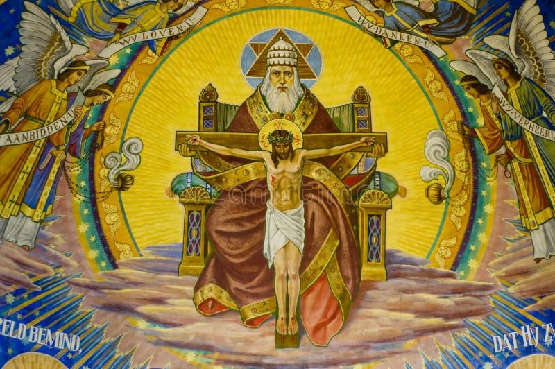 God met Jesus royalty-vrije stock afbeelding