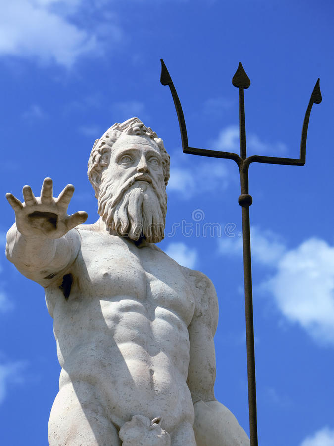Download The god Neptune stock photo. Image of bless, palace, city - 21187130