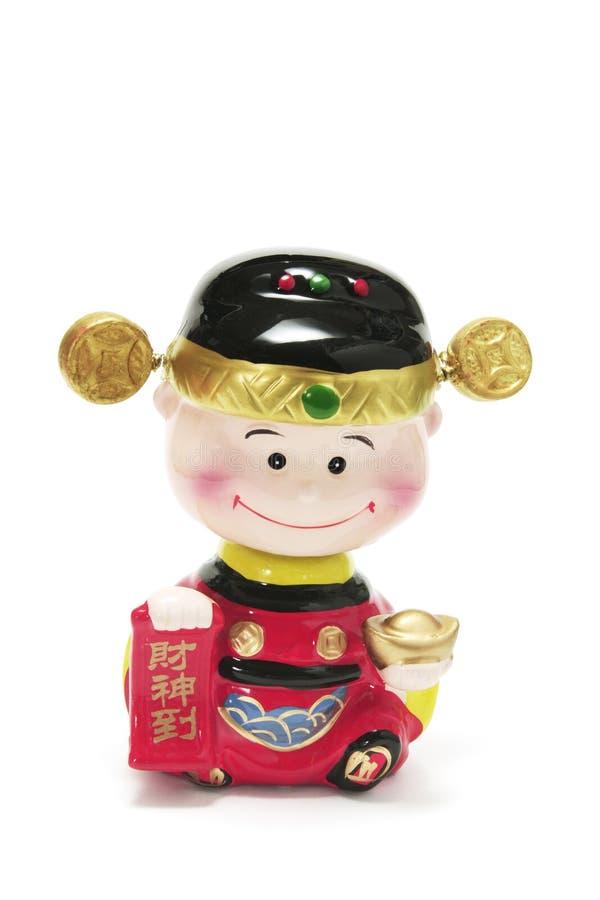 God of Prosperity stock images