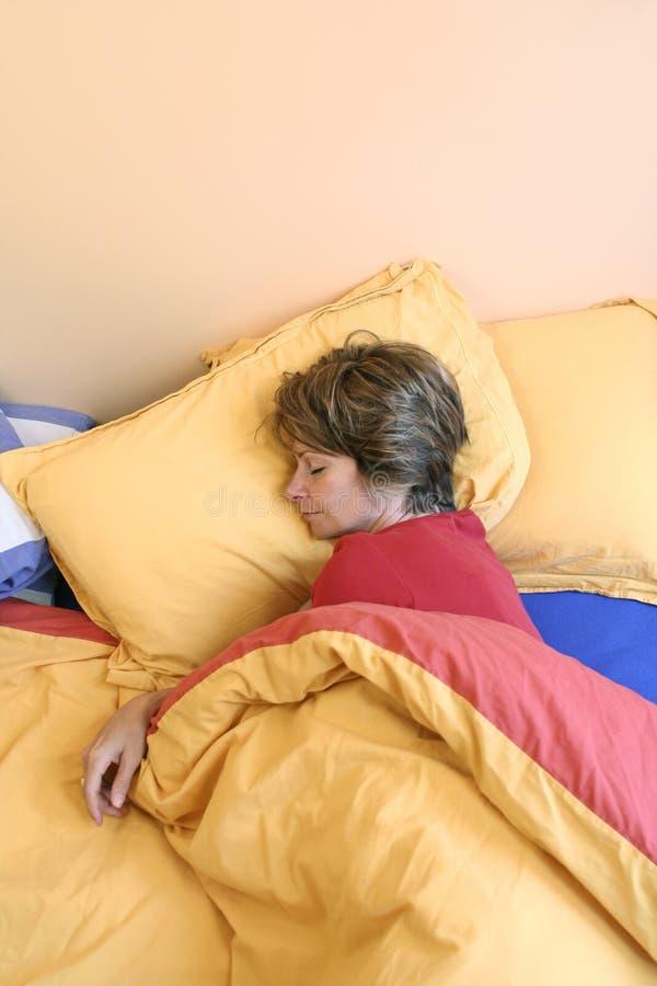 god sömn royaltyfria bilder