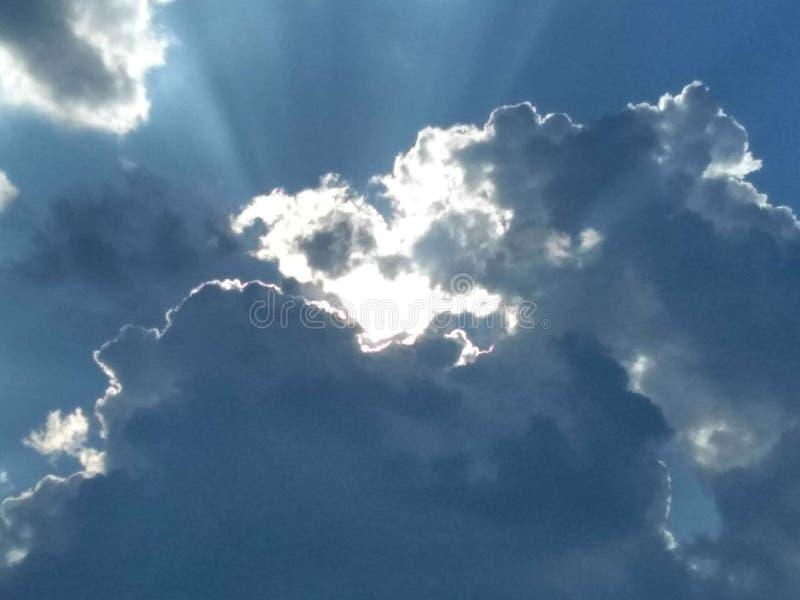 God& x27; s licht royalty-vrije stock afbeelding