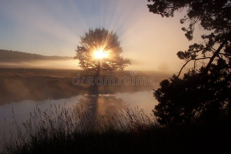 God's Revealing Glory! stock photo