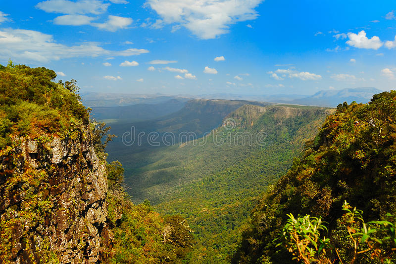 God's Window (South Africa). God's Window is a popular look-out point along the Drakensberg escarpment in the province Mpumalanga. It is situated in the Blyde stock photography