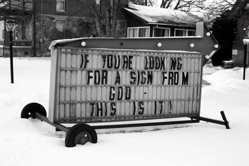 god sign στοκ εικόνα με δικαίωμα ελεύθερης χρήσης