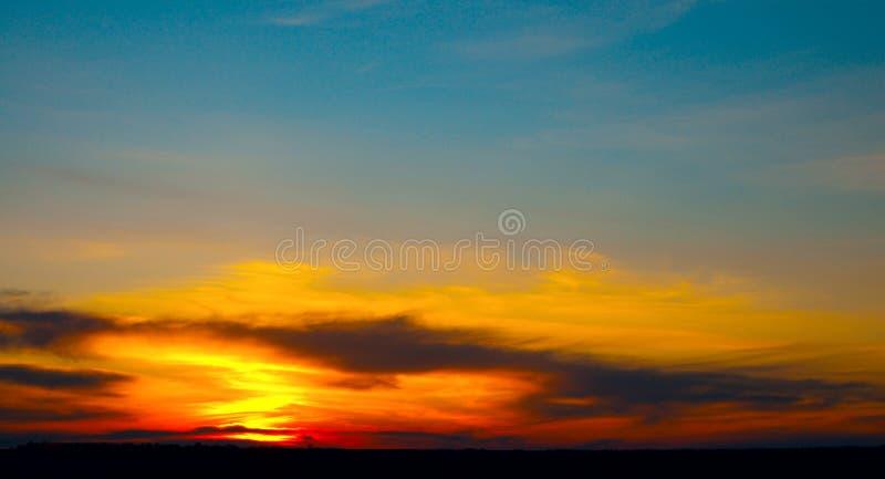 god solnedgång arkivbilder