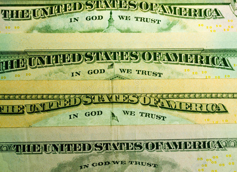 Download In God We trust stock photo. Image of legal, dollars - 19650630