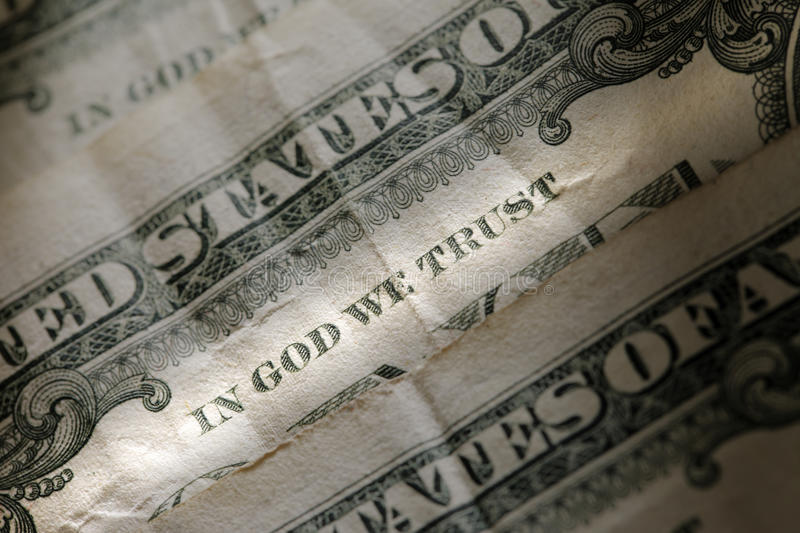Download In God We Trust Stock Photography - Image: 20795742