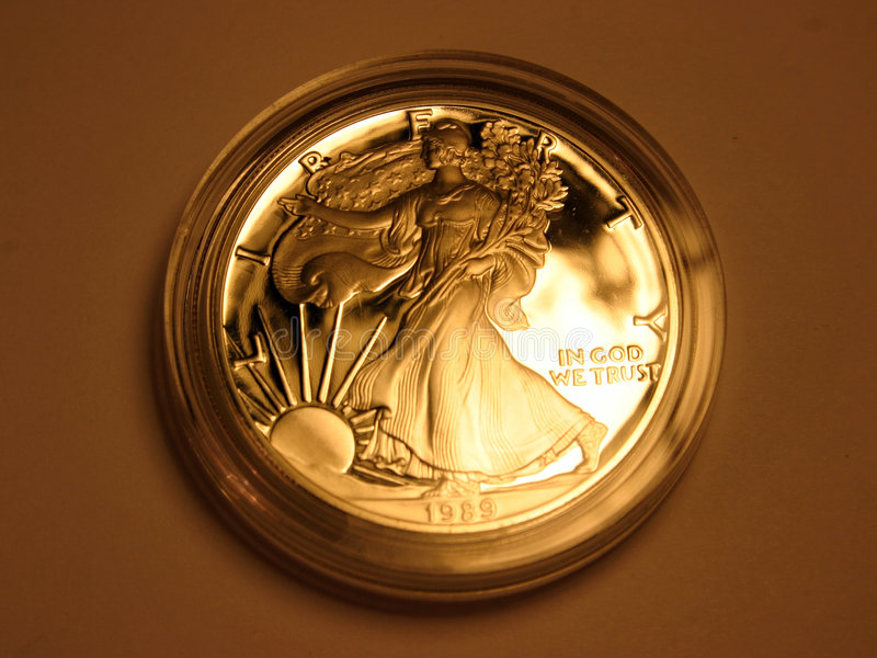 Download In God we trust stock photo. Image of reflection, numismatics - 58776