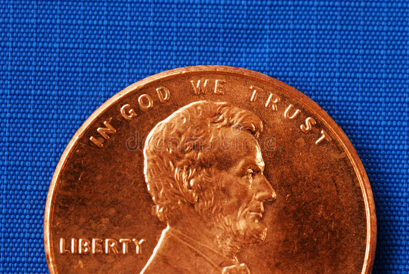 Download In God We Trust From The Penny Stock Photo - Image: 15092116