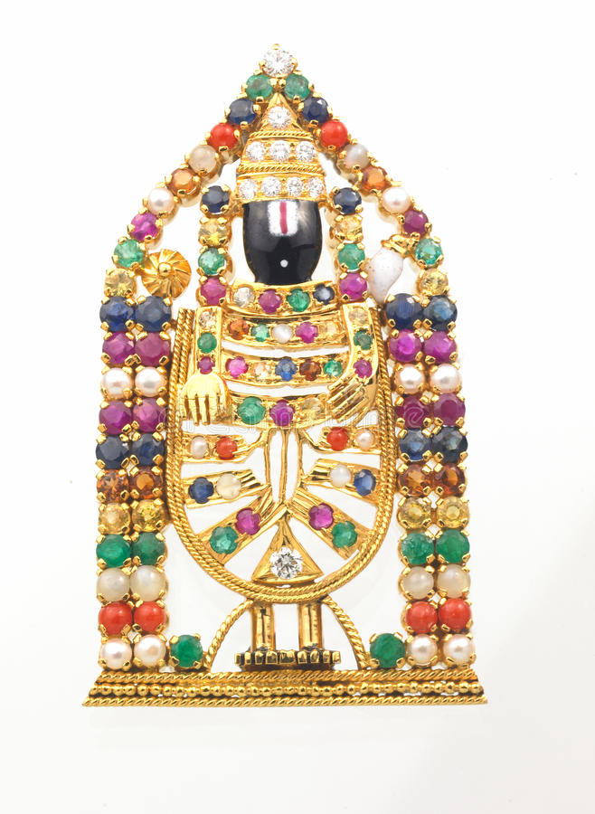 God Venkateshwara Stock Photo