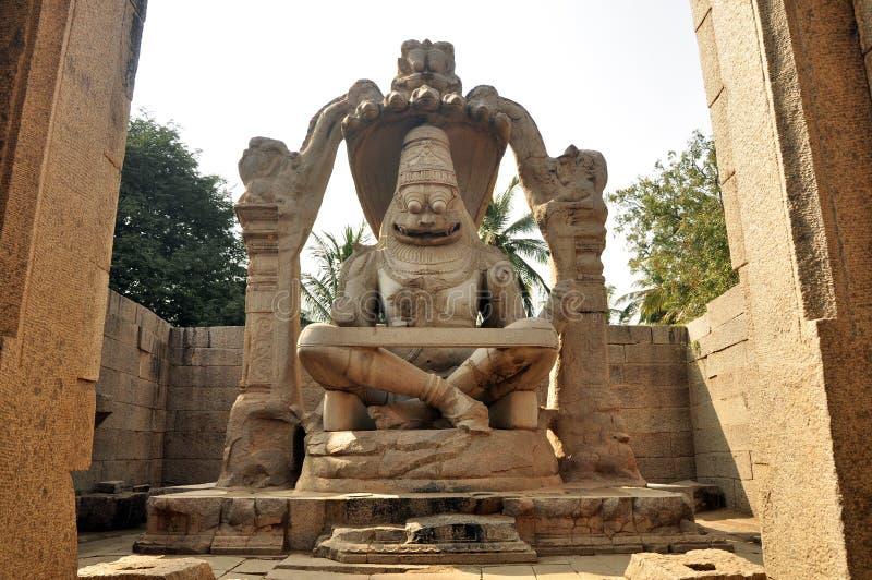 God Vishnu stock image