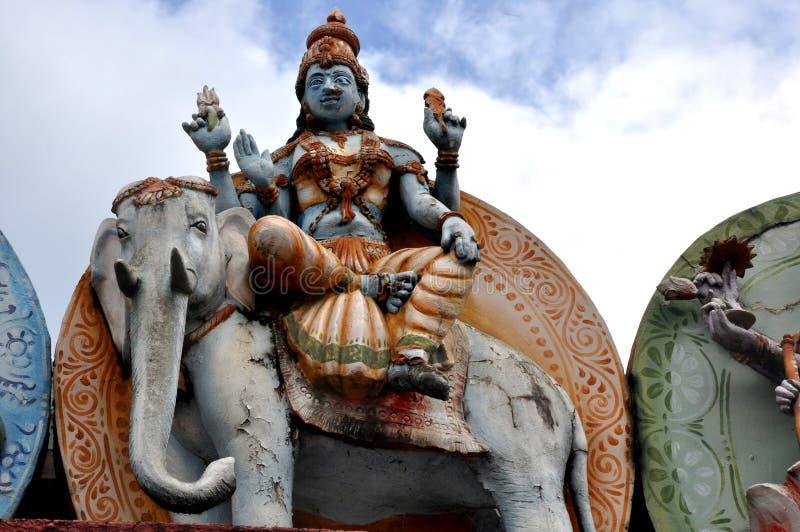 God Vishnu royalty-vrije stock afbeeldingen