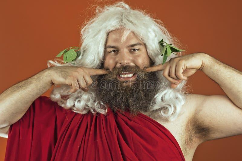 God Zeus royalty free stock photos