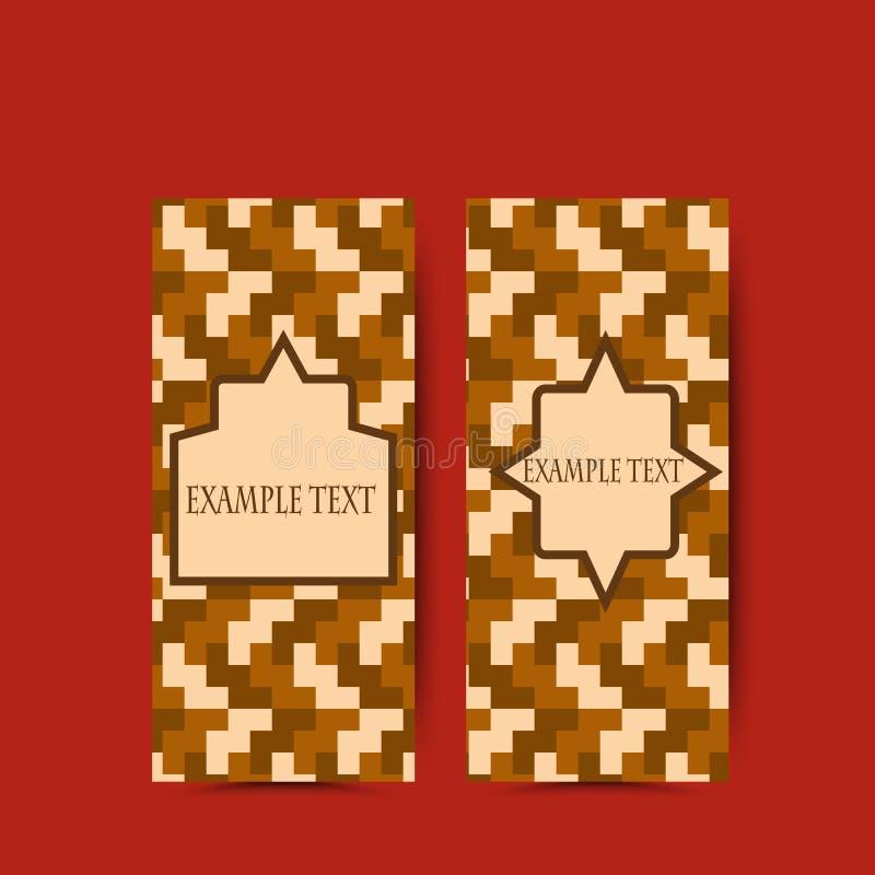 Goda för mall för reklamblad för design för affärsbroschyrvektor geometrisk polygonal för årsrapport royaltyfri illustrationer