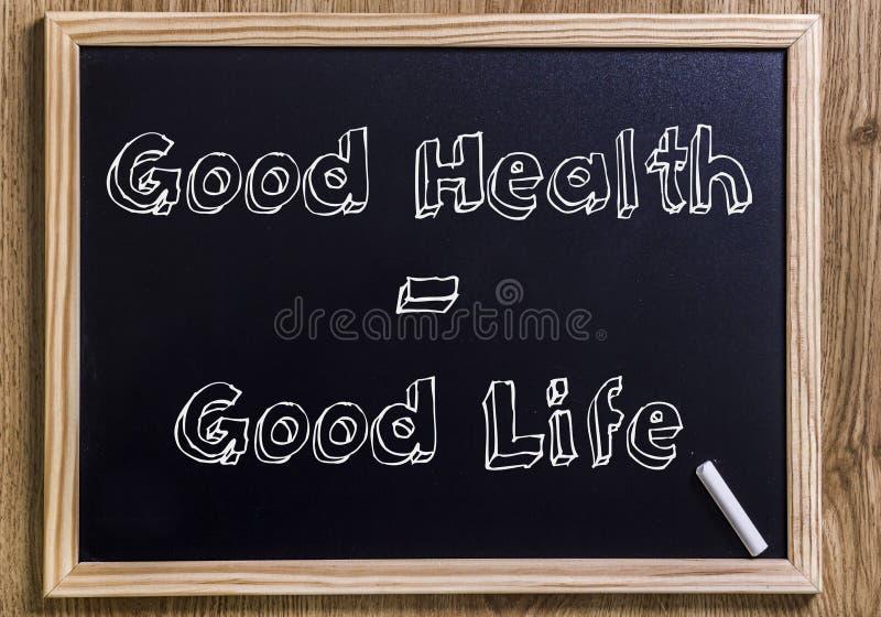 Goda hälsor - bra liv arkivfoton