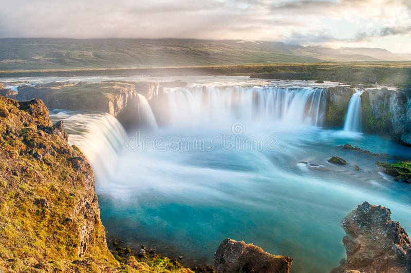 Godafoss stockfoto