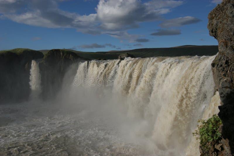 Godafoss falls on Island