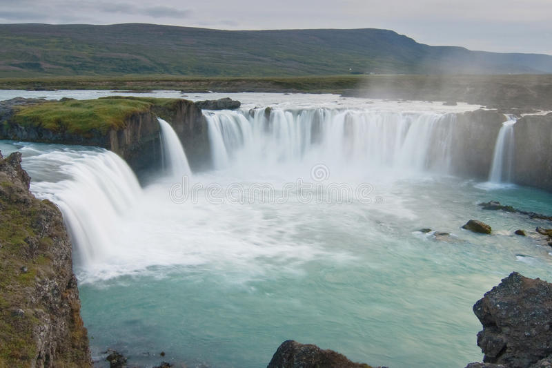 Godafoss falls stock images