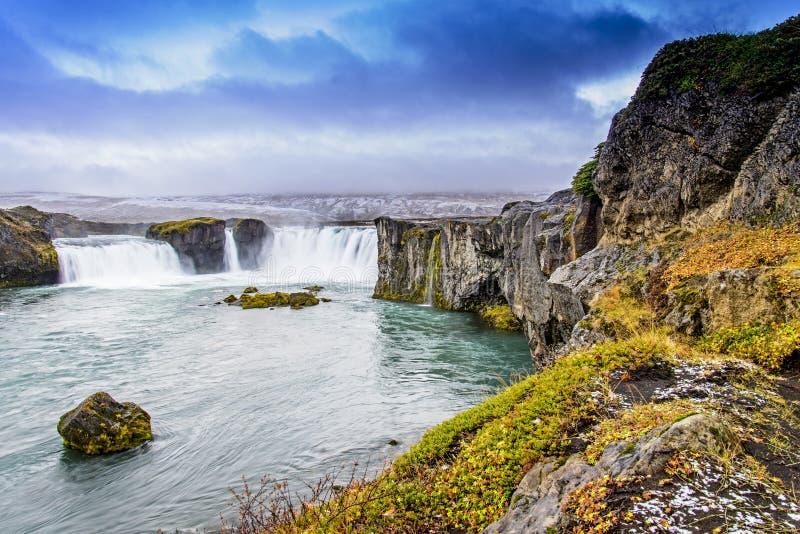Godafoss, IJsland royalty-vrije stock afbeeldingen
