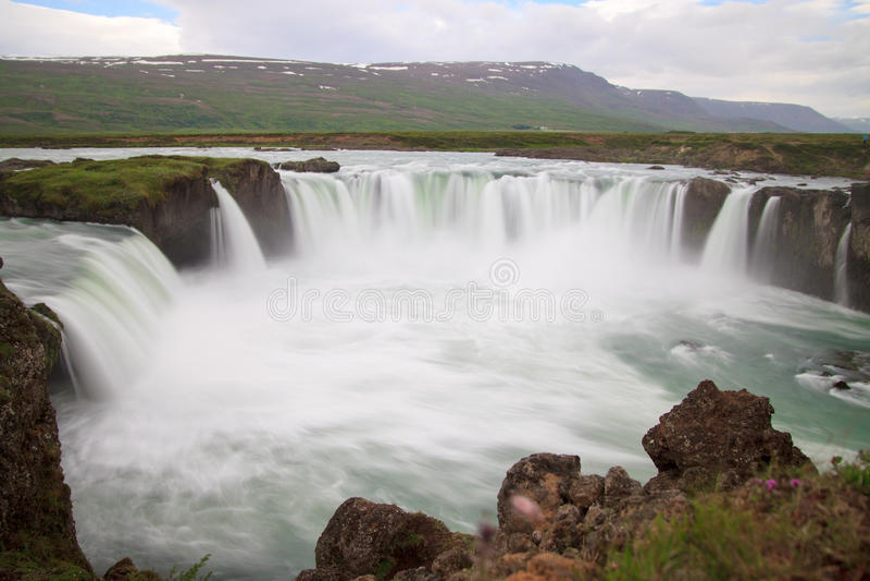 Godafoss, Island lizenzfreies stockfoto