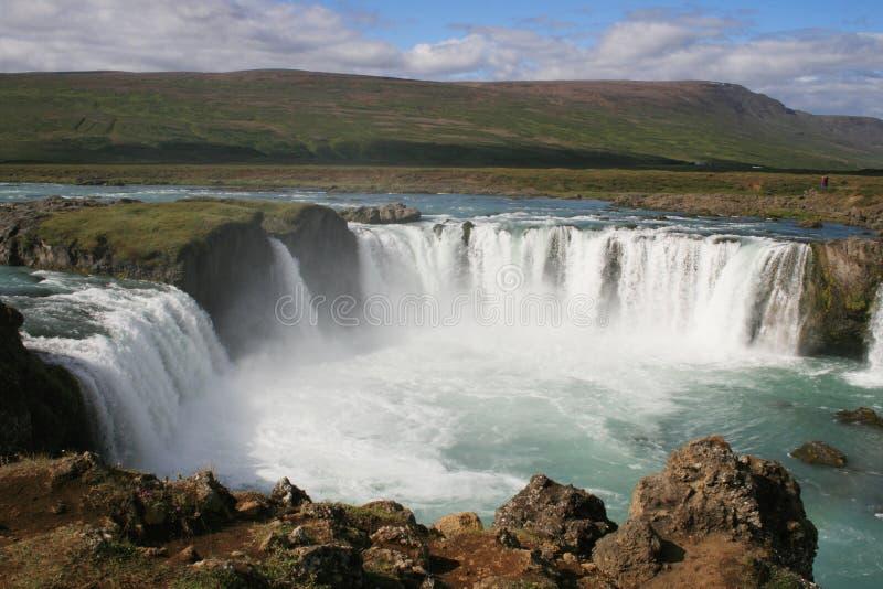 godafoss Islandii fotografia royalty free