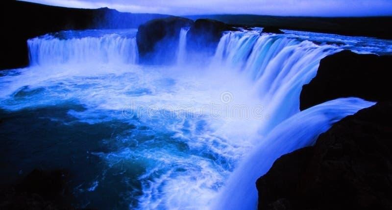 godafoss Islandii zdjęcia stock