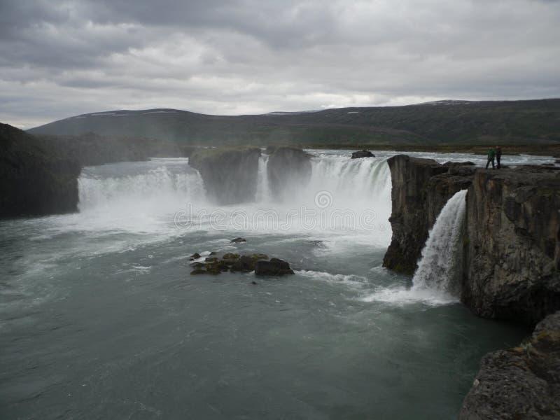 Godafoss- North iceland stock image
