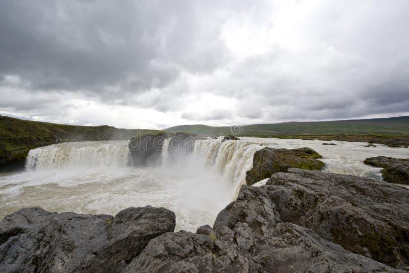 Download Godafoss Waterfall stock image. Image of highland, splashing - 6135083