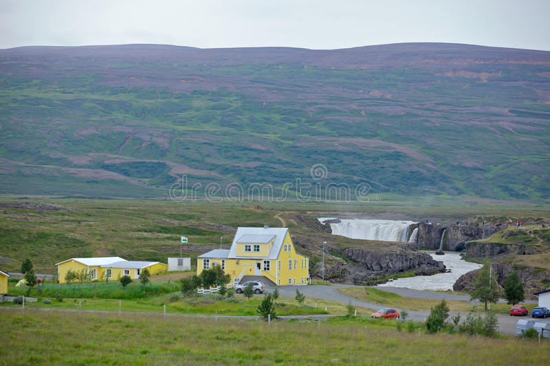 Download Godafoss waterfall stock image. Image of power, countryside - 31845759