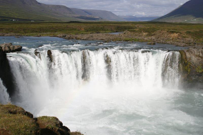 godafoss wodospadu zdjęcia royalty free