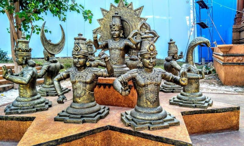 Goddess of India royalty free stock photos