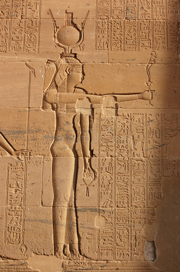 Download Goddess Isis stock photo. Image of spiritual, exterior - 8296268